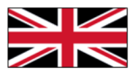 Red, White, and Black: if the White Stripes designed a new UK flag.