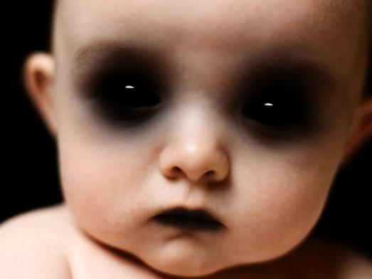 Demon_baby_by_alefandrade-d37wfpu